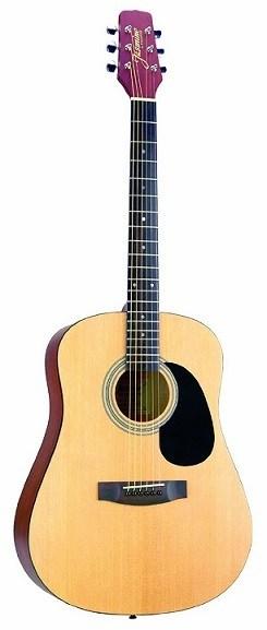Jasmine S35 Acoustic Guitar Review | Kid Guitarist
