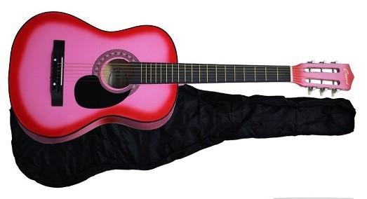 crescent mg38 pk 38 acoustic guitar starter package kid guitarist. Black Bedroom Furniture Sets. Home Design Ideas