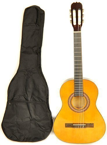 5eff4fad28d This Valencia guitar is a decent choice if you are looking for a budget  nylon string package for children who are ages 7 to around 10 or 11. It is  a 3/4 ...