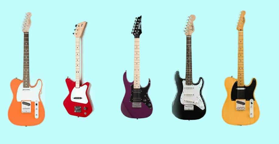 Best Electric Guitars for Kids and Teens